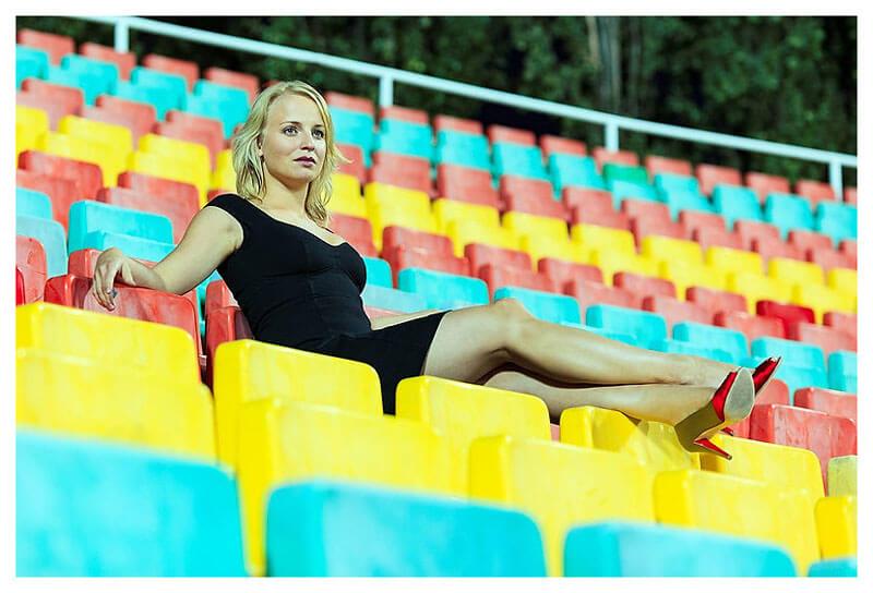 Anja Graefenstein (Boche) Schauspielerin-Fotograf Binh Truong Berlin
