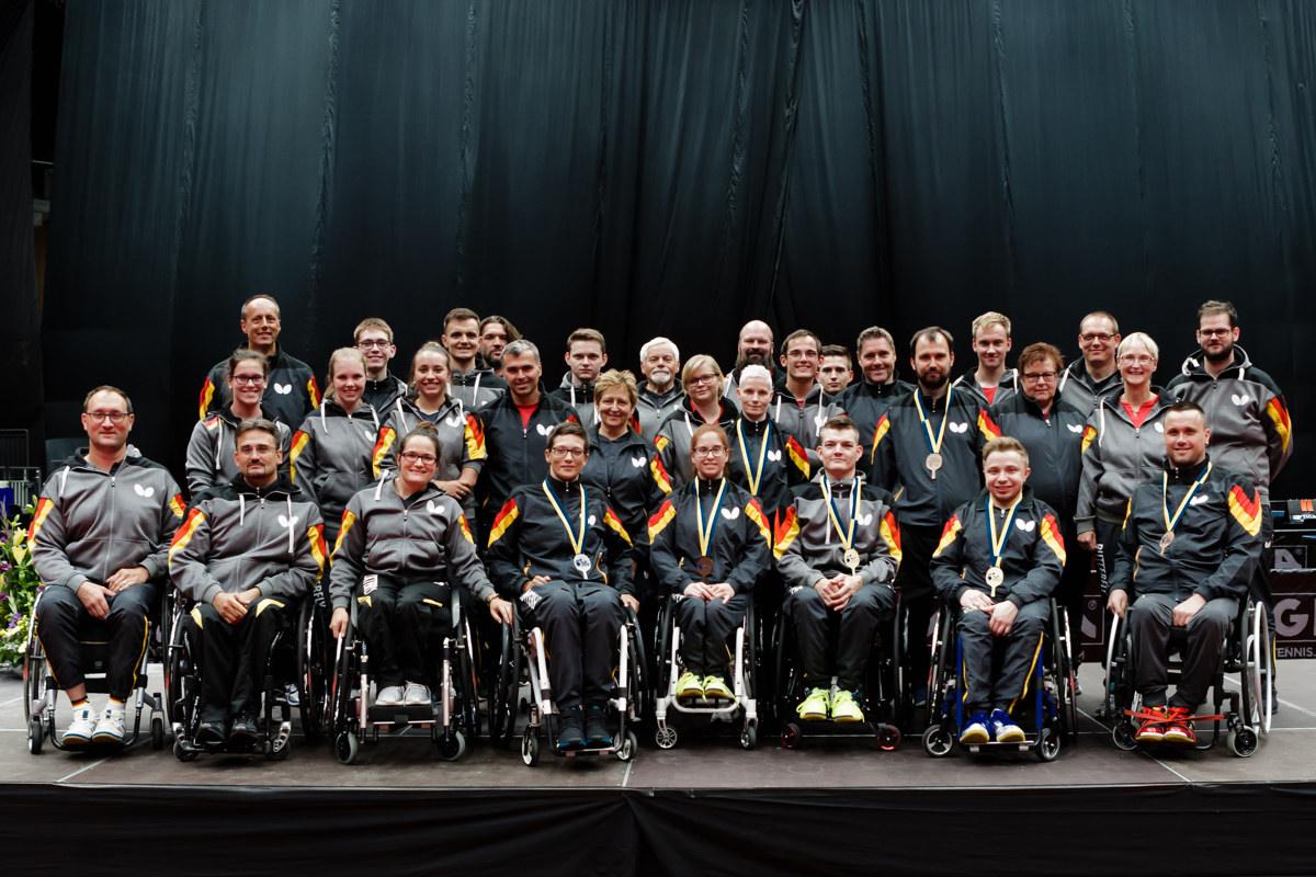 Para Tischtennis – Deutsche Nationale Paralympische Mannschaft